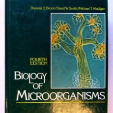 Libros de segunda mano: BIOLOGY OF MICROORGANISMS. THOMAS D. BROCK/DAVID W. SMITH/MICHAEL T. MADIGAN. ILUSTRADO. AÑO 1984. 8. Lote 125503479