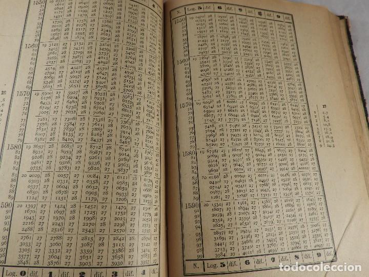 Libros de segunda mano de Ciencias: LIBRO TABLAS DE LOGARITMOS POR VICENTE VAZQUEZ QUEIPO - Foto 9 - 125815031