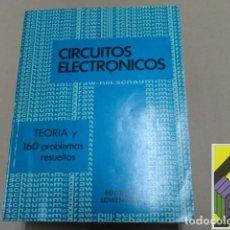 Libros de segunda mano de Ciencias: LOWENBERT, EDWIN C.: TEORÍA Y PROBLEMAS DE CIRCUITOS ELECTRÓNICOS (TRAD:CARLOS MARTÍNEZ MEJÍA). Lote 125898343
