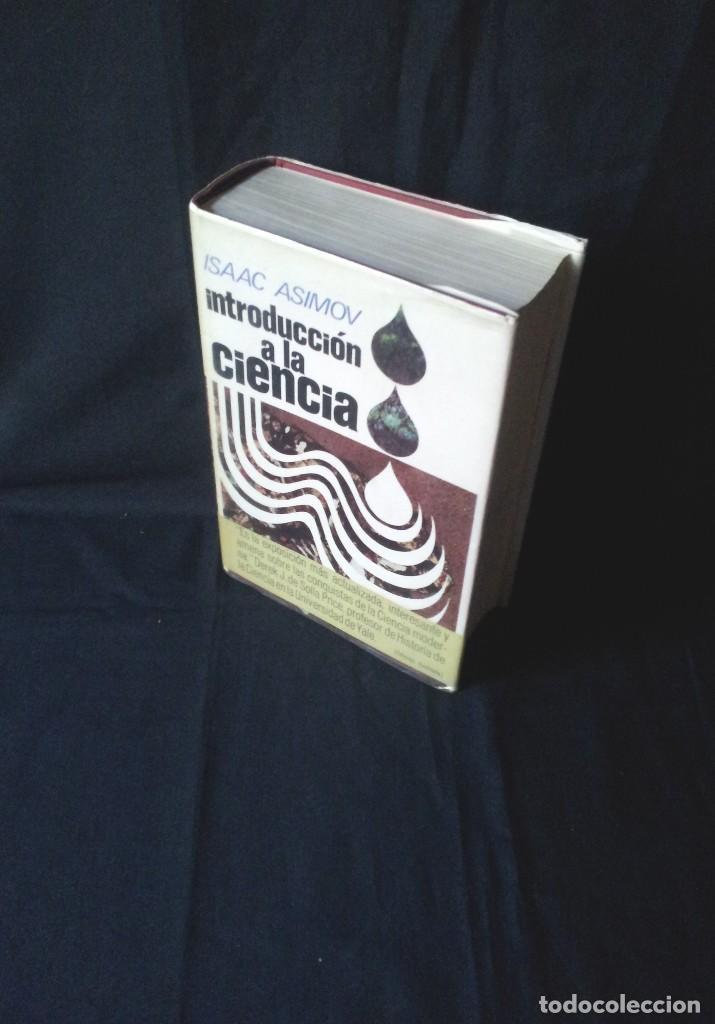 ISAAC ASIMOV - INTRODUCCION A LA CIENCIA - PLAZA & JANES, PRIMERA EDICION 1973 (Libros de Segunda Mano - Ciencias, Manuales y Oficios - Física, Química y Matemáticas)