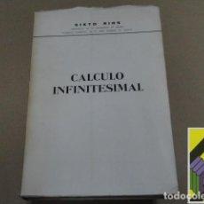 Libros de segunda mano de Ciencias: RIOS, SIXTO: CÁLCULO INFINITESIMAL. Lote 126007967