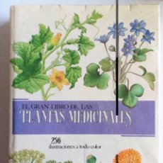 Libros de segunda mano: EL GRAN LIBRO DE LAS PLANTAS MEDICINALES JAN VOLÁK-JIRÍ STODOLA. ED. SUSAETA. 256 ILUSTRACIONES.. Lote 126090163