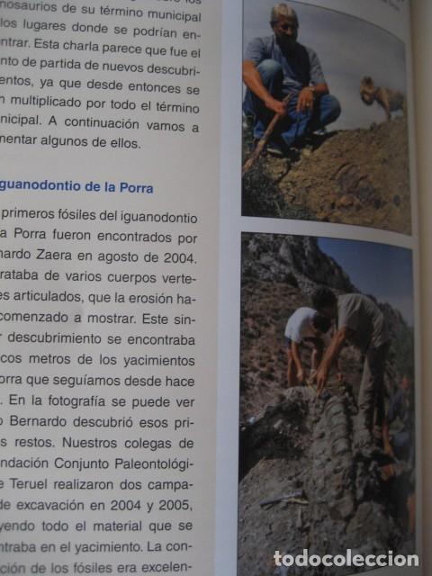 Libros de segunda mano: LOS DINOSAURIOS DE LAS CUENCAS MINERAS DE TERUEL. FOSILES, PALEONTOLOGIA - Foto 6 - 142457208
