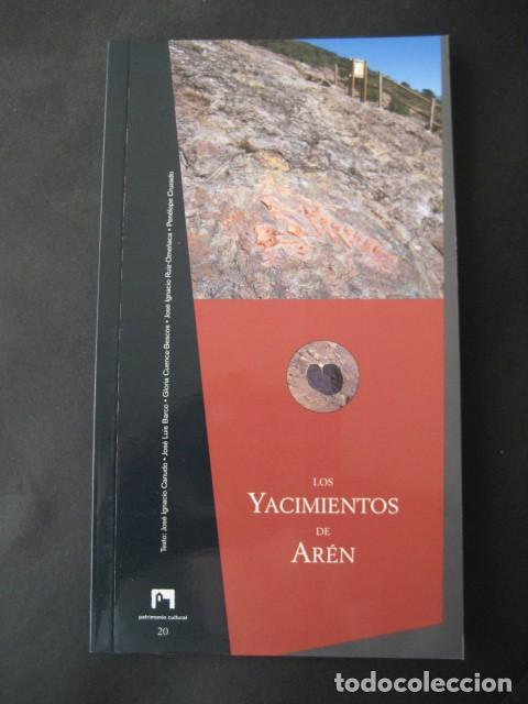 LIBRO FOSILES, YACIMIENTOS DE DINOSAURIOS DE AREN (HUESCA). FOSIL, PALEONTOLOGIA (Libros de Segunda Mano - Ciencias, Manuales y Oficios - Paleontología y Geología)