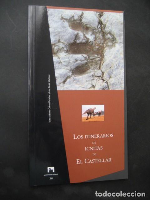 LIBRO FOSILES, ICNITAS DE EL CASTELLAR (TERUEL). FOSIL, PALEONTOLOGIA, DINOSAURIOS (Libros de Segunda Mano - Ciencias, Manuales y Oficios - Paleontología y Geología)