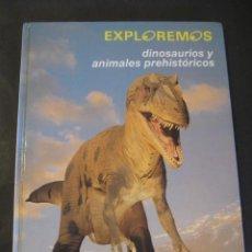 Libros de segunda mano: LIBRO DINOSAURIOS Y ANIMALES PREHISTORICOS. EDELVIVES 1992. Lote 126120403