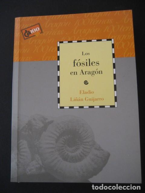 LIBRO: LOS FOSILES EN ARAGON. PALEONTOLOGIA, AMMONITES, TRILOBITES, DINOSAURIOS (Libros de Segunda Mano - Ciencias, Manuales y Oficios - Paleontología y Geología)