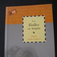 Libros de segunda mano: LIBRO: LOS FOSILES EN ARAGON. PALEONTOLOGIA, AMMONITES, TRILOBITES, DINOSAURIOS. Lote 196351621