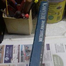 Libros de segunda mano: BOTANICA. MICHAEL JORDAN.. Lote 126165590