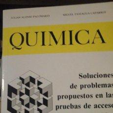 Libros de segunda mano de Ciencias: SOLUCIONES DE PROBLEMAS PROPUESTOS EN LAS PRUEBAS DE ACCESO A LA UNIVERSIDAD (MADRID, 1991). Lote 126387555