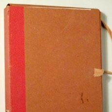 Libros de segunda mano de Ciencias: MATEMÁTICA MODERNA. APUNTES PARA 6º CURSO (2 CARPETAS) - MADRID 1963. Lote 126423000