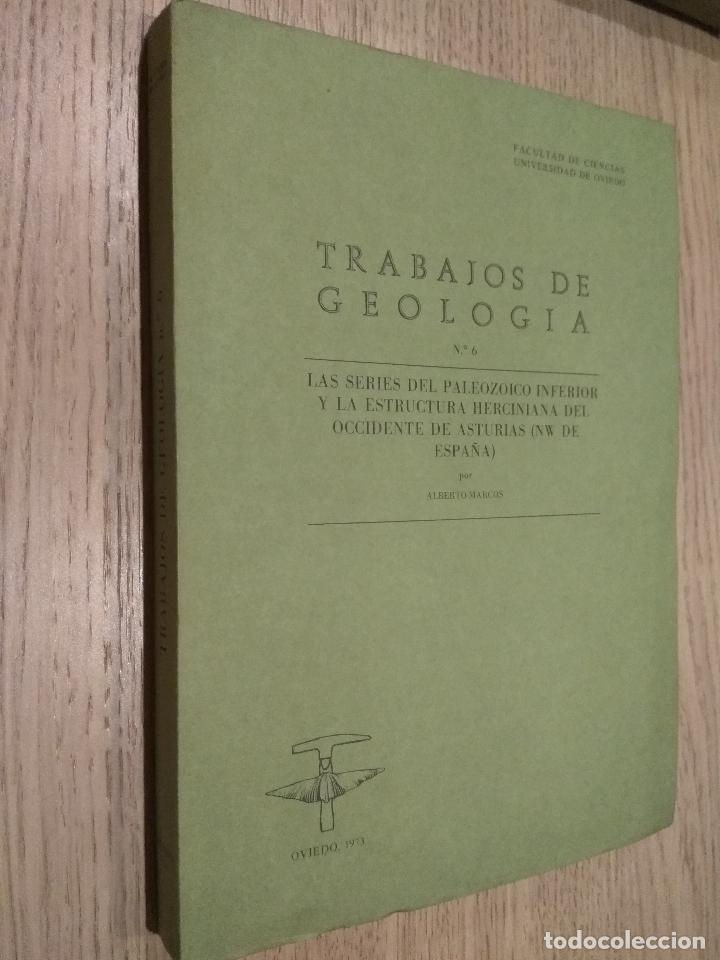 TRABAJOS DE GEOLOGIA. Nº 6. FACULTAD DE CIENCIAS. UNIVERSIDAD DE OVIEDO. 1973. (Libros de Segunda Mano - Ciencias, Manuales y Oficios - Paleontología y Geología)