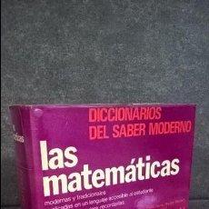 Libros de segunda mano de Ciencias: LAS MATEMATICAS MODERNAS Y TRADICIONALES EXPLICADAS EN UN LENGUAJE ACCESIBLE AL ESTUDIANTE Y AL ADUL. Lote 126573279