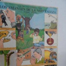 Livres d'occasion: LOS AMANTES DE LA NATURALEZA GUIA PRACTICA ILUSTRADA MICHAEL CHINERY EDITADO EN 1977.. Lote 241858780