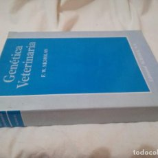 Libros de segunda mano: GENETICA VETERIANARIA-F. W. NICHOLAS. Lote 126753223