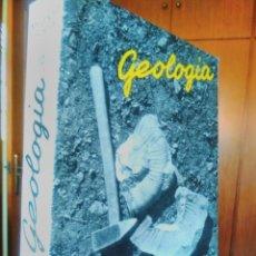 Libros de segunda mano: GEOLOGÍA MELENDEZ FUSTER -4A EDICION - GEOLOGÍA, ROCAS , PALEONTOLOGÍA - FOSILES. Lote 126942707