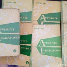 Libros de segunda mano de Ciencias: CURSO DE AYUDANTE DE LABORATORIO,INSTITUTO AMERICANO,COMPLETO 24. Lote 127124339