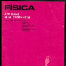 Libros de segunda mano de Ciencias: FÍSICA POR KANE Y STERNHEIM DE ED. REVERTÉ EN BARCELONA 1987. Lote 127175991