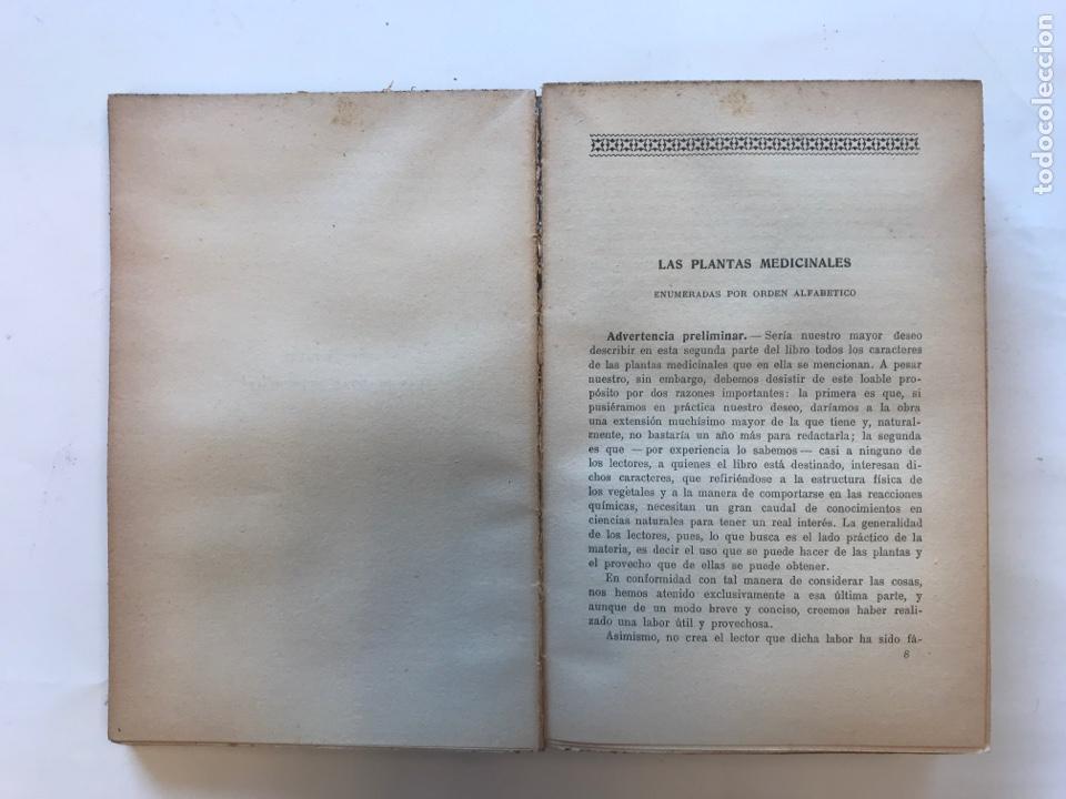 Libros de segunda mano: PLANTAS MEDICINALES POR ARTURO MONTESANO DELCHI. EDITORIAL MAUCCI - Foto 2 - 127211680