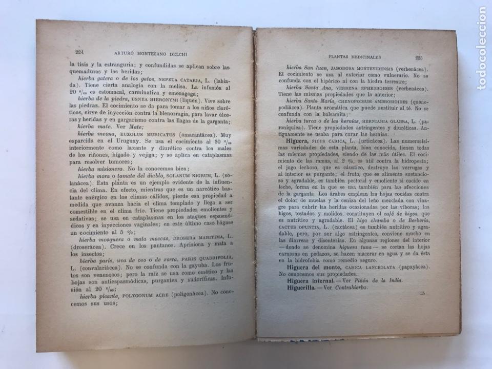 Libros de segunda mano: PLANTAS MEDICINALES POR ARTURO MONTESANO DELCHI. EDITORIAL MAUCCI - Foto 3 - 127211680