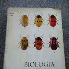 Libros de segunda mano: BIOLOGIA GENERAL -- TOMO II -- S. ALVARADO -- 1969 --. Lote 127444675