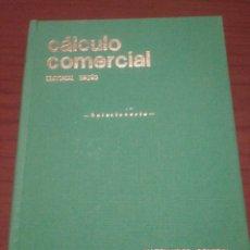 Libros de segunda mano de Ciencias: CALCULO COMERCIAL MATEMATICAS GENERAL EDITORIAL BRUÑO 1969 SOLUCIONARIO DE MAESTRO. Lote 127462742