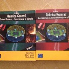 Libros de segunda mano de Ciencias: QUÍMICA GENERAL VOL I + VOL II (PETRUCCI, HARWOOD, GEOFFREY HERRING) 8ª EDICIÓN. Lote 127635087