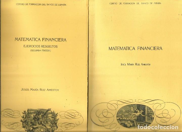 jesus maria ruiz amestoy. matematica financiera - Comprar Libros de ...