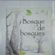 Libros de segunda mano: BOSQUE DE BOSQUES. BLANCO, - EMILIO. - OBRA SOCIAL CAJA MADRID. TDK221. Lote 127667199
