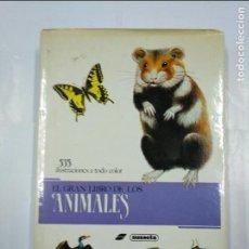 Libros de segunda mano: EL GRAN LIBRO DE LOS ANIMALES 535 ILUSTRACIONES A TODO COLOR. SUSAETA. TDK156. Lote 127668199