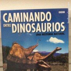 Libros de segunda mano: CAMINANDO ENTRE DINOSAURIOS UNA HISTORIA NATURAL TIM HAINES. Lote 128113203