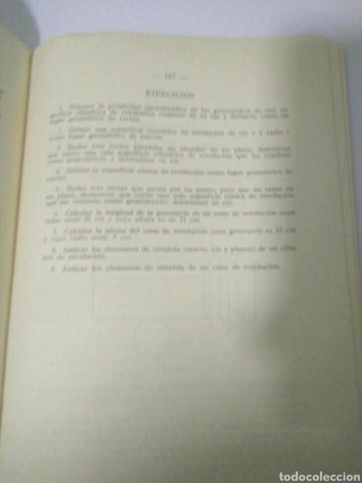 Libros de segunda mano de Ciencias: MATEMATICAS CUARTO CURSO BACHILLERATO PLAN 1957 ,SUMMA MADRID 1968.VER FOTOS - Foto 4 - 128293692