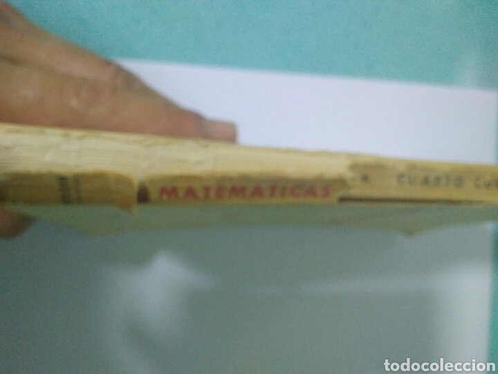 Libros de segunda mano de Ciencias: MATEMATICAS CUARTO CURSO BACHILLERATO PLAN 1957 ,SUMMA MADRID 1968.VER FOTOS - Foto 6 - 128293692