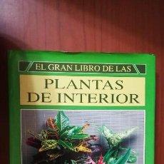 Libros de segunda mano: EL GRAN LIBRO DE LAS PLANTAS DE INTERIOR - 225 ILUSTRACIONES A TODO COLOR. Lote 128376383