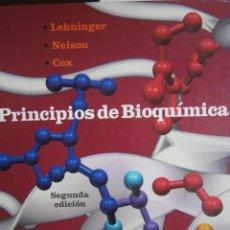 Libros de segunda mano de Ciencias: PRINCIPIOS DE BIOQUIMICA LEHNINGER NELSON COX OMEGA 1995. Lote 128703723