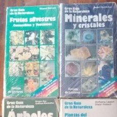 Libros de segunda mano: CUATRO GUÍAS DE LA GRAN GUÍA DE LA NATURALEZA .. Lote 128746831
