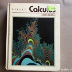 Libros de segunda mano de Ciencias: CALCULUS. DENNIS D. BERKEY (BOSTON UNIVERSITY). SAUNDERS COLEGE PUBLISHING, 1988.. Lote 128915279