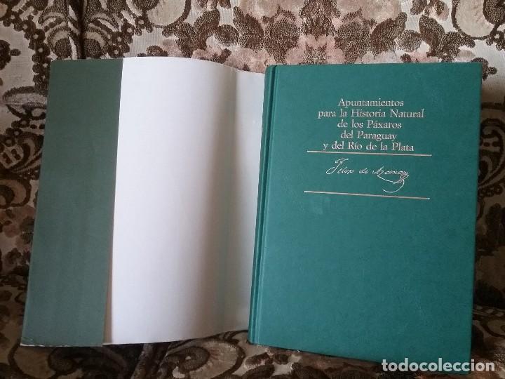 Libros de segunda mano: Apuntamientos para la Historia Natural de los Paxaros del Paraguay y del Rio de la Plata. Laminas. - Foto 9 - 129177103