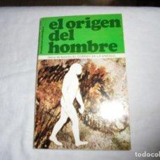 Libros de segunda mano: EL ORIGEN DEL HOMBRE.PROMOCIONES CULTURALES 1973.UNESCO PARIS. Lote 129312519
