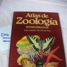 Libros de segunda mano: ATLAS DE ZOOLOGIA - INVERTEBRADOS. Lote 129315683
