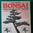 Libros de segunda mano: CATALOGO BONSAI, LOS ERRORES MÁS FRECUENTES DEL BONSAISTA Y CÓMO EVITARLOS - CARLO GENOTTI. Lote 129374479