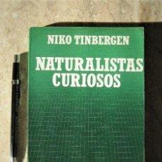 Livres d'occasion: BIBLIOTECA CIENTÍFICA SALVAT - NIKO TIMBERGEN - NATURALISTAS CURIOSOS -ETOLOGÍA - ZOOLOGÍA. Lote 129415847