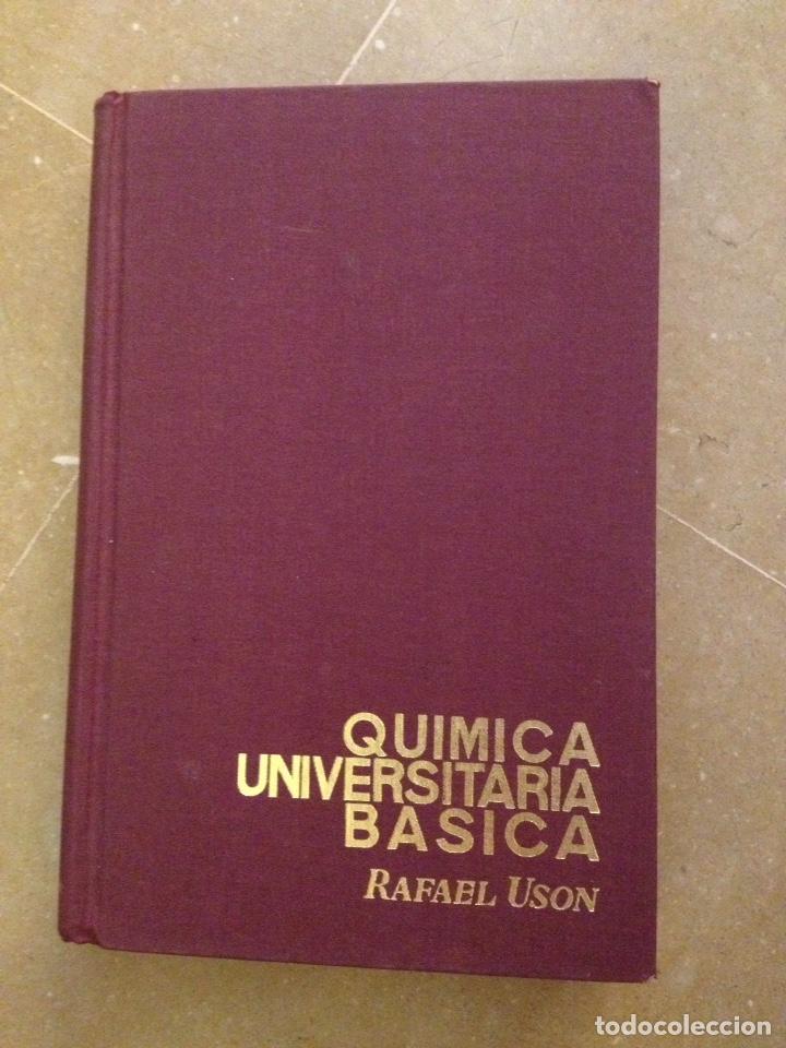 QUÍMICA UNIVERSITARIA BÁSICA (RAFAEL USÓN) (Libros de Segunda Mano - Ciencias, Manuales y Oficios - Física, Química y Matemáticas)