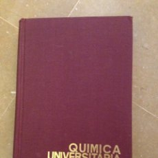 Libros de segunda mano de Ciencias: QUÍMICA UNIVERSITARIA BÁSICA (RAFAEL USÓN). Lote 129525971