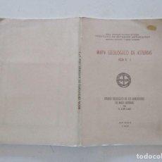 Libros de segunda mano: N. LLOPIS LLADO ESTUDIO GEOLÓGICO DE LOA ALREDEDORES DE AVILÉS (ASTURIAS). RMT87233. Lote 129534591