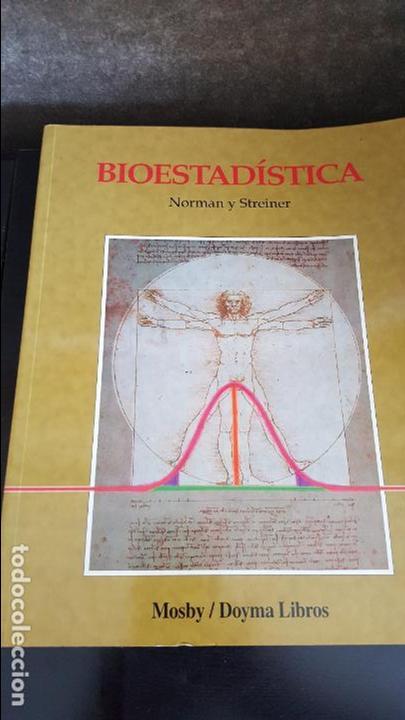 BIOESTADISTICA, NORMAN Y STREINER (Libros de Segunda Mano - Ciencias, Manuales y Oficios - Física, Química y Matemáticas)