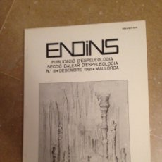 Libros de segunda mano: ENDINS N 8 (ESPELEOLOGÍA MALLORCA). Lote 129663247
