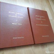 Libros de segunda mano de Ciencias: MÉTODOS AVANZADOS DE ESTADÍSTICA APLICADA: DOS TOMOS / ALFONSO GARCÍA PÉREZ. Lote 130067903