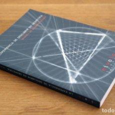 Libros de segunda mano de Ciencias: MIGUEL DE GUZMÁN OZÁMIZ. LA EXPERIENCIA DE DESCUBRIR EN GEOMETRÍA. INCLUYE CD. Lote 130104875