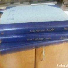 Libros de segunda mano: FANTASTICO CONJUNTO FACSIMIL FLORA PERUVIANA ET CHILENSIS PERFECTO ESTADO. Lote 130308210